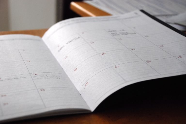 Dates in the school calendar: it's not all about the end of term