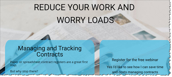 Work smarter with contract register software