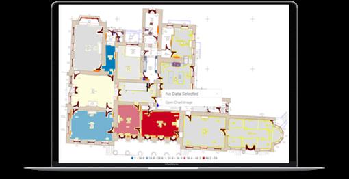 Heatmap of faciliites jobs