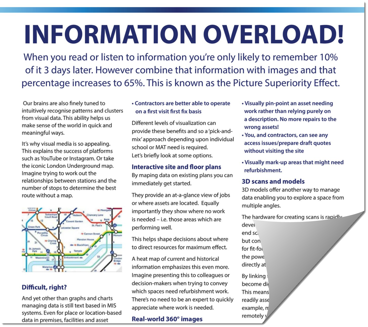 Image showing article about Information overload in facilities management